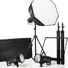 Broncolor Siros 800 S Pro Kit 3 Wifi / RFS 2 Ex College