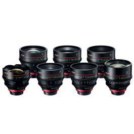 Canon CN-E Prime L F Cine 6 x Lens Kit - 14mm, 24mm, 35mm, 50mm, 85mm, 135mm