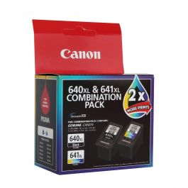 Canon Ink Cartridge Combination Pack PG-640XL CL-641XL