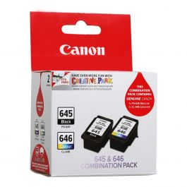 Canon Ink Cartridge Combination Pack PG-645 CL-646