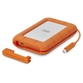 Lacie 2TB Rugged USB C & Thunderbolt