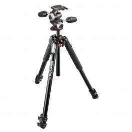 Manfrotto Tripod Kit 055 055XPRO3 and XPRO 3 way Head