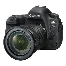 Canon EOS 6D Mark II premium kit w/ EF 24-105 IS STM lens