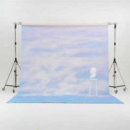 Oliphant 3.65 x 6.70m Canvas Backdrop - Pastel Sunset