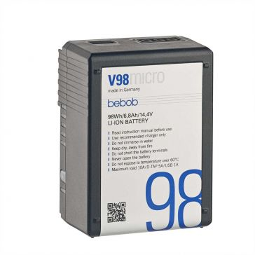 Bebob V98 MICRO V-Mount Battery