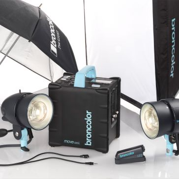 Broncolor Move 1200 L Outdoor Kit 2