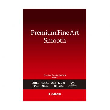Canon FASM1A3+ 25 Sheets Premium Fine Art Smooth