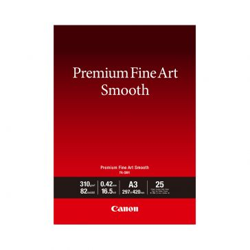 Canon FASM1A3 25 Sheets Premium Fine Art Smooth