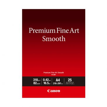 Canon FASM1A4 25 Sheets Premium Fine Art Smooth