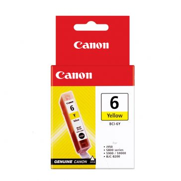 Canon Ink Cartridge BCI-6Y