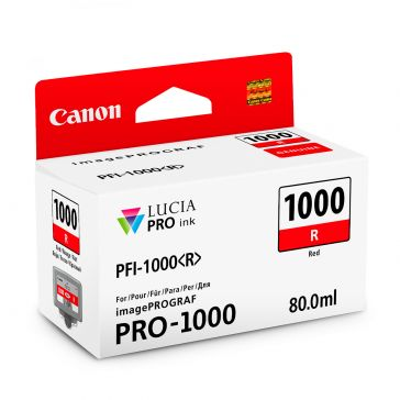 Canon PFI1000R Red Ink Tank