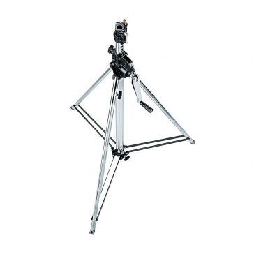 Manfrotto Wind-up Stand 083 on wheels