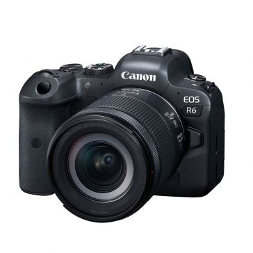 Canon EOS R6 Kit with RF 24-105mm f/4-7.1 IS STM lens