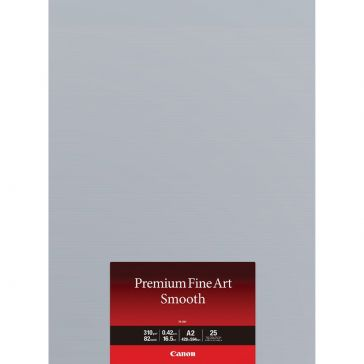 Canon FASM1A2 25 Sheets Premium Fine Art Smooth