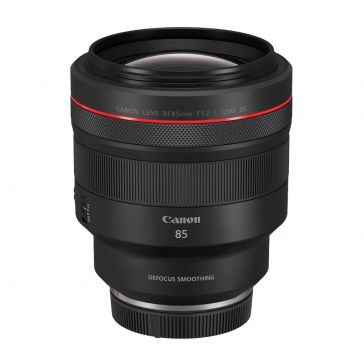 Canon RF 85mm f/1.2L USM Defocus Smoothing