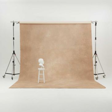 Oliphant 3.65 x 6.70m Canvas Backdrop - Beige/Tan