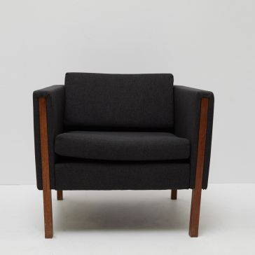 Black Designer Lounge Chair