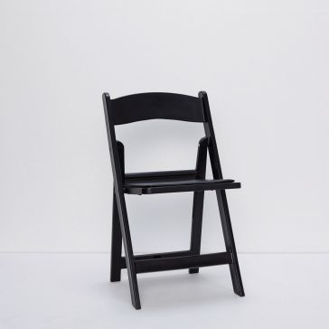Black Foldaway Chair
