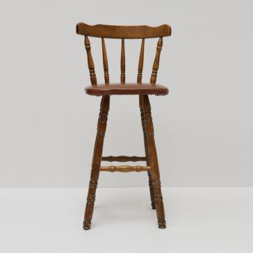 Country Style Wooden Stool