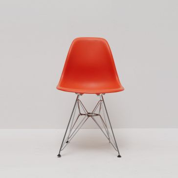 Eames Eiffel DSW Orange Chair