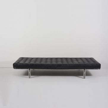 Mies van der Rohe Barcelona Leather Bench