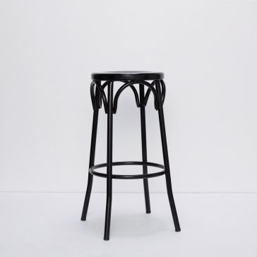 Replica Paris Bentwood Black Stool