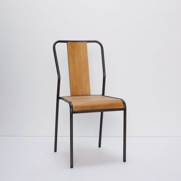 Timber And Metal Chair