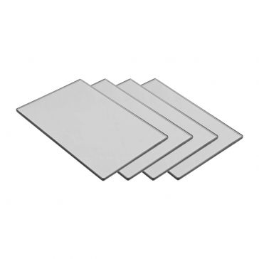 "Tiffen 4 x 5.65"" Natural ND - Water White - Filter kit (kit includes: 0.3, 0.6, 0.9 and 1.2 Density ND Filters)"