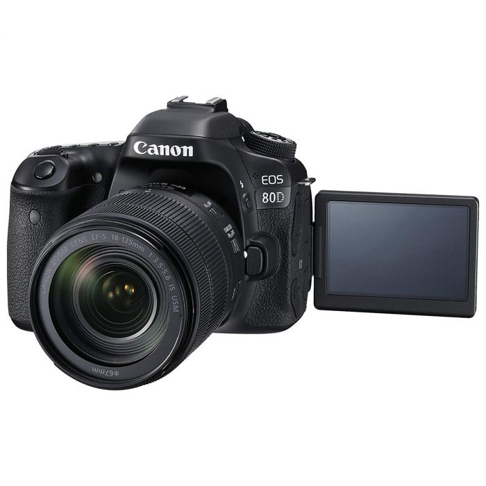 Canon EOS 80D Super Kit with EFS 18-135 IS USM lens