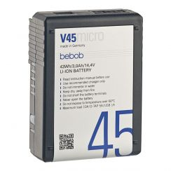 Bebob V45 MICRO V-Lock Battery