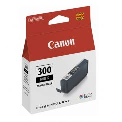 Canon PFI 300MBK Matte Black Ink Tank