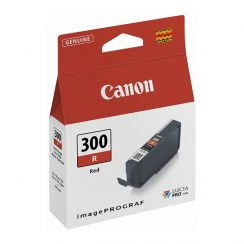 Canon PFI 300R Red Ink Tank