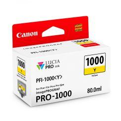 Canon PFI1000Y Yellow Ink Tank