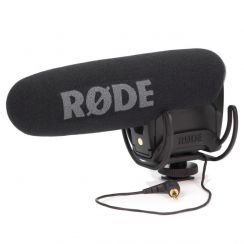 Rode Video Mic Pro Plus on Camera Mic