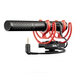 Rode VideoMic NTG on Camera Shotgun Mic