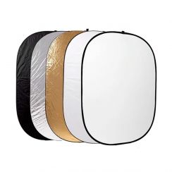 Oblong 5 Way Reflector 200x150cm Xlite