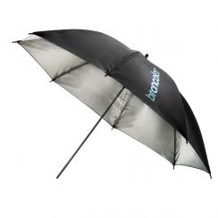 "Broncolor umbrella silver/black Ø 85 cm (33.5"")"