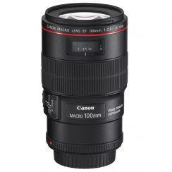 Canon EF 100mm f/2.8 Macro IS USM Lens