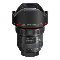 Canon's EF 11-24mm f/4L USM is an ultra wide angle zoom lens that allows you to capture dramatic landscapes.