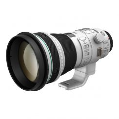 The EF 400mm f/4 DO IS II USM super-telephoto lens features a diffractive optics system, Image Stabilisation and an Ultrasonic motor. Unique to Canon it combines compactness and high image quality, for sharp output every time.