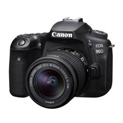 Canon EOS 90D DSLR Single Kit with EFS18-55ST lens
