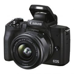 Canon EOS M50 Mark II Single kit with EF-M15-45