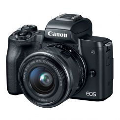Canon EOS M50 Mirrorless Single Kit with EF-M15-45STM lens