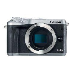 Canon EOS M6 Mirrorless Camera Body (Silver) - Refurbished