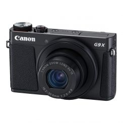 Canon G9X Mark II Powershot Compact Digital Camera (Black) - Refurbished