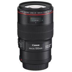 Canon EF 100mm f/2.8 Macro IS USM Lens - Refurbished