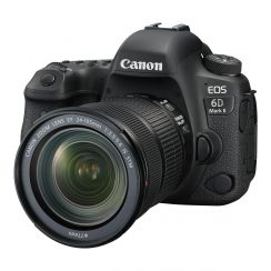 Canon EOS 6D Mark II premium kit with EF24-105 IS STM lens - Refurbished