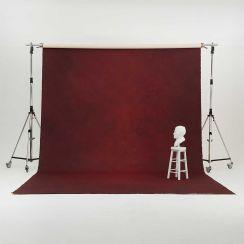 Oliphant 3.65 x 6.70m Canvas Backdrop - Mottled Wine