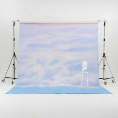 Oliphant 3.65 x 6.70m Canvas Backdrop - Pastel Sunset