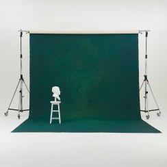 Oliphant 3.65 x 6.70m Canvas Backdrop - British Racing Car Green